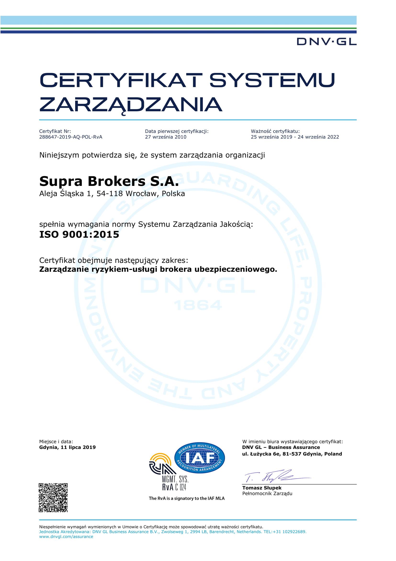 2. na prawą stronę - ISO ISO 9001_2015 2019-09-24 do 2022-09-24_prawa