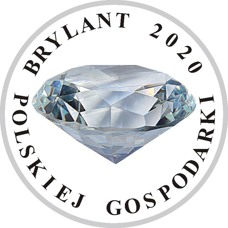 Logo Promocyjne Brylant Polskiej Gospodarki 2020 okręgłe
